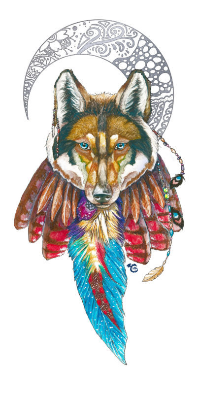 wolf_towel